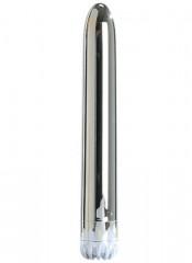 Vibratore Classico Argento 18 X 2,5 cm.