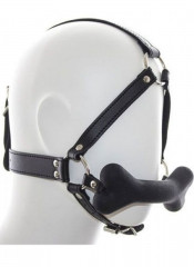 Imbracatura Testa in Ecopelle con Osso