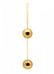 Palline Vaginali Timeless Orgasm Balls Oro 3,5 cm.