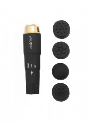 Stimolatore Clitoride Con 4 Testine Timeless Pocket Rocket