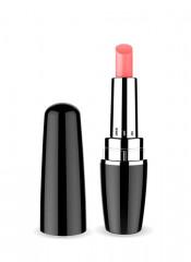 Stimolatore clitoride a forma di rossetto nero 9,5 x 2,6 cm.