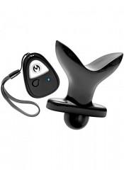 Plug Anale Espandibile Vibrante in Puro Silicone con Telecomando Wireless 9,5 x 4,8-10 cm.