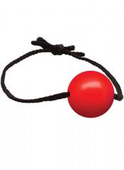 Gag Ball in Silicone Rosso Diametro 4 cm.