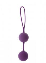 Sfere Vaginali in Puro Silicone Viola 19 X 3,5 cm.