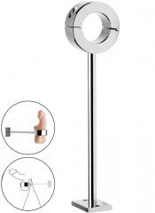 Ball stretcher in acciaio per testicoli da Fissare al Muro 3,4 cm.