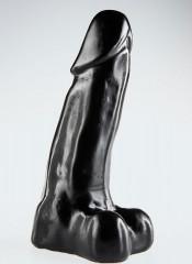 DARK CRYSTAL Joost Dildo BLACK 28 X 7 cm
