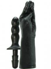Pugno per Hand Fisting con impugnatura e Attacco Vac-u-lock 42 X 7 cm.